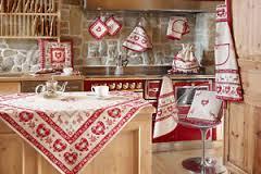 Tessil don biancheria per la casa tendaggi tappeti - Coordinati cucina country ...